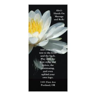 Tarjeta flotante del estante de la flor de Lotus Lona Publicitaria