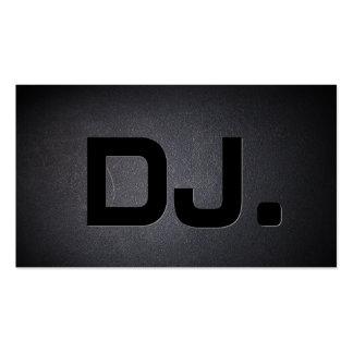 Tarjeta fresca de la industria musical de DJ del n Plantillas De Tarjetas De Visita