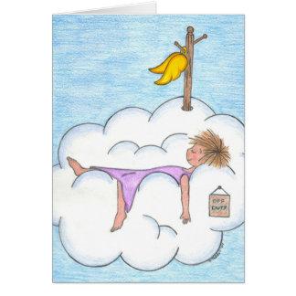 Tarjeta fuera de servicio del ángel