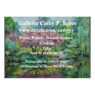 Tarjeta Gallerie Cathy P. Jones del perfil Tarjetas De Negocios