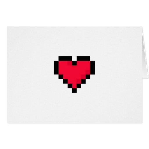 Tarjeta Geeky del el día de San Valentín