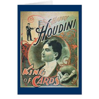 Tarjeta geeting de Houdini