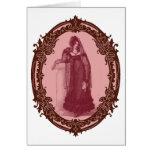 Tarjeta gótica de la regencia