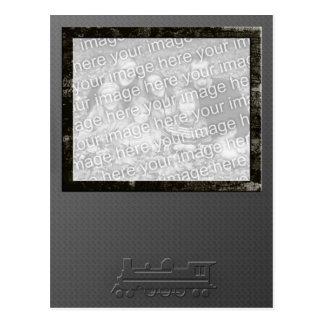 Tarjeta grabada en relieve tren de la foto tarjeta postal