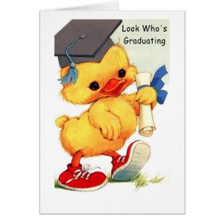 Tarjeta graduada