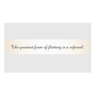 Tarjeta gris de la remisión del planeamiento del tarjetas de visita
