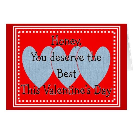 Tarjeta grosera del el día de San Valentín