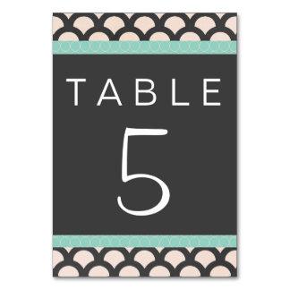 Tarjeta hermosa brillante de la tabla de N