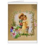 Tarjeta hermosa del el día de San Valentín de los