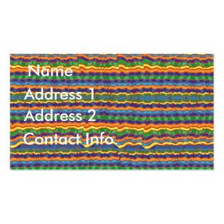 Tarjeta hispánica del perfil del diseño tarjeta personal