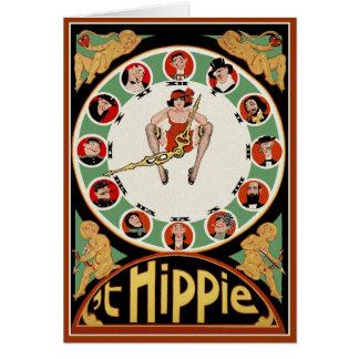 Tarjeta: <i>' Hippie de t</i>  por el Jr. de Tarjeta De Felicitación