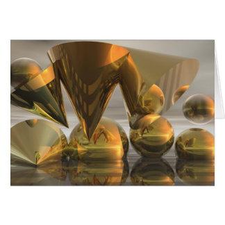 Tarjeta ideal de oro