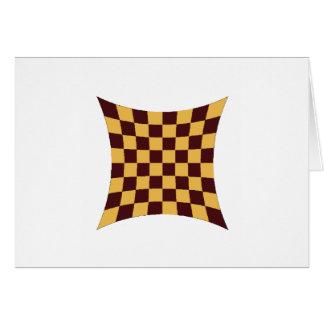 Tarjeta Imploded del tablero de ajedrez