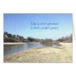 Tarjeta inspirada: Como un río glorioso