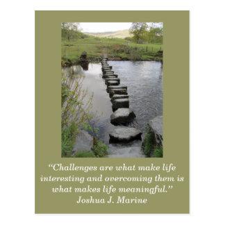 Tarjeta inspirada; Desafío 1 - Postales