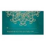 Tarjeta inspirada india del lugar del trullo que a plantilla de tarjeta personal