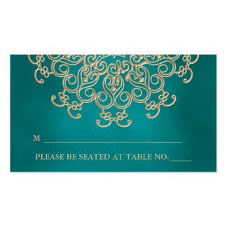 Tarjeta inspirada india del lugar del trullo que a tarjetas de visita