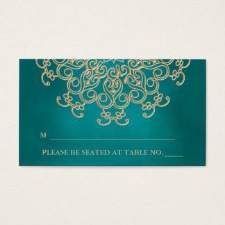 Tarjeta inspirada india del lugar del trullo que tarjetas de visita