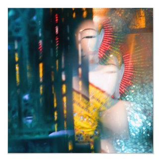 Tarjeta/invitación de Kaleidoskopic Buda