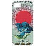 Tarjeta japonesa del comercio de la seda del vinta iPhone 5 cárcasa