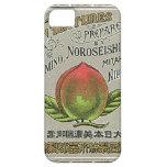 Tarjeta japonesa del comercio de la seda del vinta iPhone 5 Case-Mate coberturas