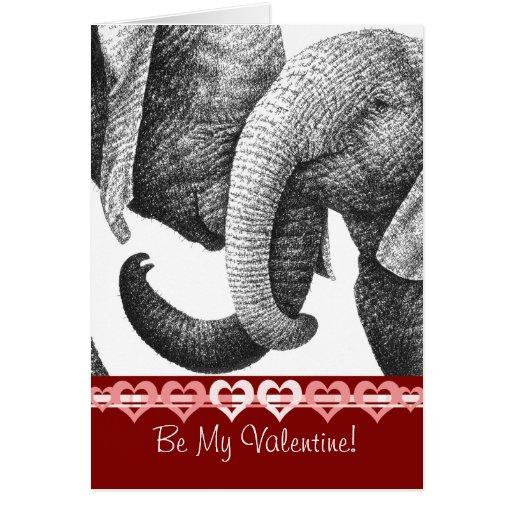 Tarjeta joven de la tarjeta del día de San Valentí