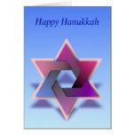 Tarjeta judía del día de fiesta # 1