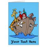 Tarjeta - la arca de Noah