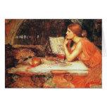 Tarjeta:  La bruja - Waterhouse de Juan Tarjeta De Felicitación