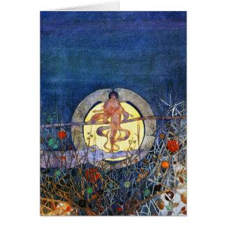 Tarjeta: La luna de cosecha de C.R. Mackintosh