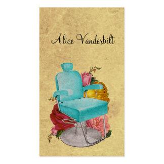 Tarjeta lamentable del Hairstylist de la silla del Plantillas De Tarjetas Personales