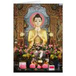 Tarjeta linda de Buda