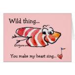 Tarjeta linda de la tarjeta del día de San Valentí