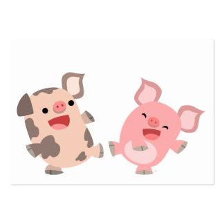 Tarjeta linda de los cerdos ACEO/Business del dibu Tarjeta De Negocio