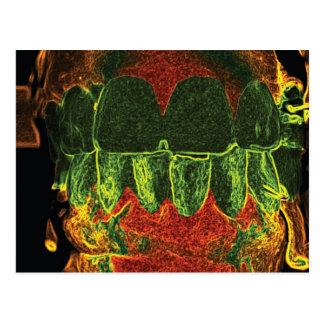 Tarjeta loca del Orthodontist del dentista del Postales
