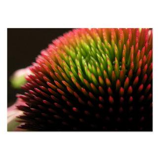 Tarjeta macra de la foto del ATC de la flor del Ec Tarjetas De Visita
