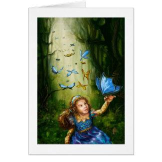 Tarjeta mágica del bosque