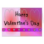 Tarjeta mala del el día de San Valentín