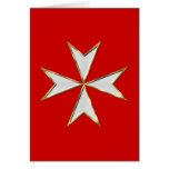 Tarjeta maltesa de Templar