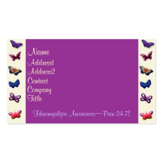 Tarjeta-Mariposas del negocio/del perfil Tarjetas De Visita
