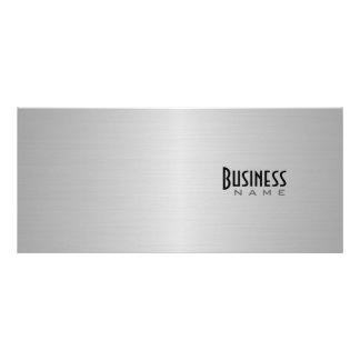 Tarjeta metálica del estante del diseño tarjetas publicitarias