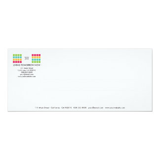 Tarjeta moderna de la invitación de la serie No.12 Invitación 10,1 X 23,5 Cm