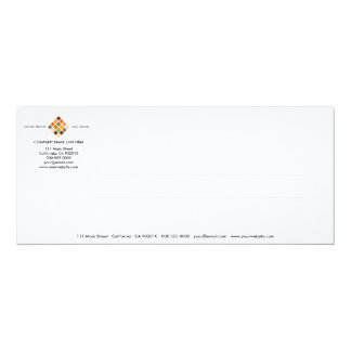 Tarjeta moderna de la invitación de la serie No.14 Invitación 10,1 X 23,5 Cm