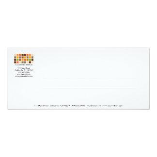 Tarjeta moderna de la invitación de la serie No.25 Invitación 10,1 X 23,5 Cm