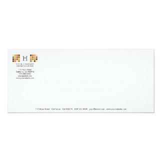 Tarjeta moderna de la invitación de la serie No.8 Invitación 10,1 X 23,5 Cm