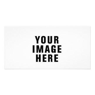 Tarjeta modificada para requisitos particulares de tarjeta con foto personalizada