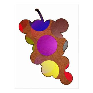 Tarjeta multicolor