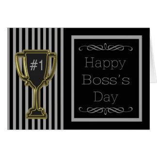 Tarjeta nacional del día de Boss