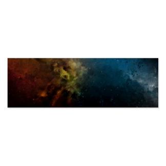 Tarjeta Nebula01 Tarjetas De Visita Mini