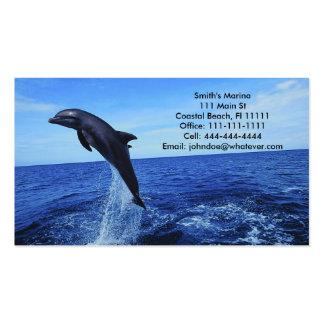 Tarjeta Negocio-Personal del delfín Tarjeta De Negocio